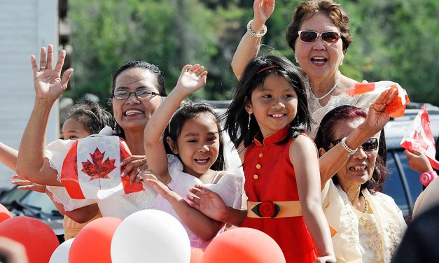 New immigrants made up 61% of Canada's population growth last year