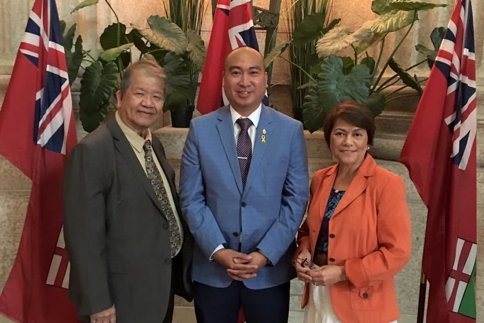 Manitoba Filipino MLA's spar over Question Period