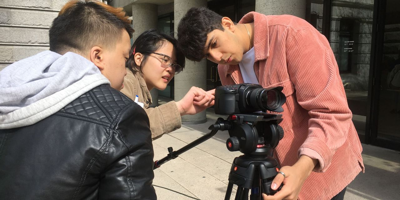 Filipino youths participate in filmmaking