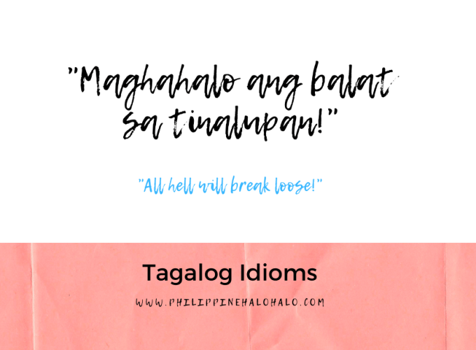 Philippine Halo-halo Tagalog Lessons Tagalog Idioms Facebook Image Preview