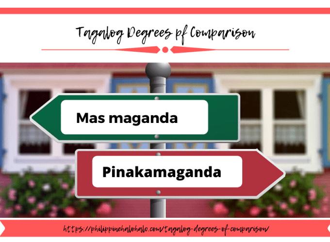 Philippine Halo-halo Learning Tagalog Tagalog Degrees of Comparison Instagram Blog Image