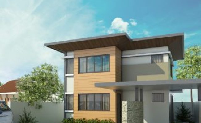 Two Story Modern House Design Philippine House Design