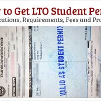 How to Get Student Drivers License - LTO Student Permit