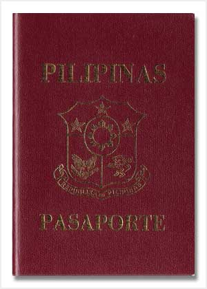 Maroon Machine-Readable Passport