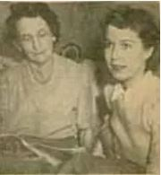 Catherine Hedman Heyda (on right) with mother-in-law
