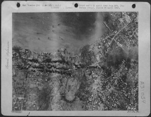 U.S. bombing raid on Cebu City, 1945
