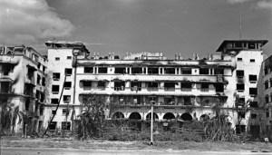 Manila Hotel damage, 1945