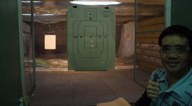 14日目 マニラ観光に射撃場でスポーツシューティング!最初は緊張したけど最後は片手撃ち!