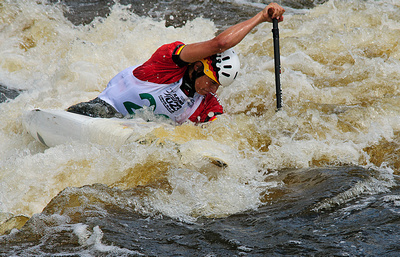 Image courtesy: Philip Schwarz Photography. International Canoe Federation's 2012 Junior Canoe Slalom World Championships Wisconsin.