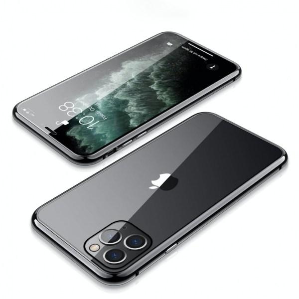 Capa 360 Magnética Metálica Iphone 11 Pro Preta Img 05