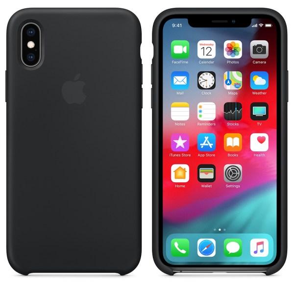 Capa Silicone Iphone Xr Preto Img 04