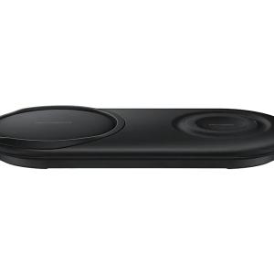 Carregador Rápido Sem Fio Duplo Pad Samsung EP-P5200TBPGBR