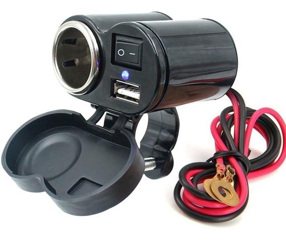 Isqueiro 12V com USB para Moto IMG 01