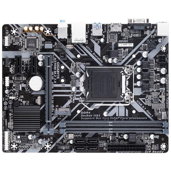 Placa Mae Ultra Durable Gigabyte H310m M.2 2.0 Intel Lga 1151 Img 02