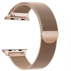 Pulseira Apple Watch Milanese Magnetica Rose Dourado Img 01
