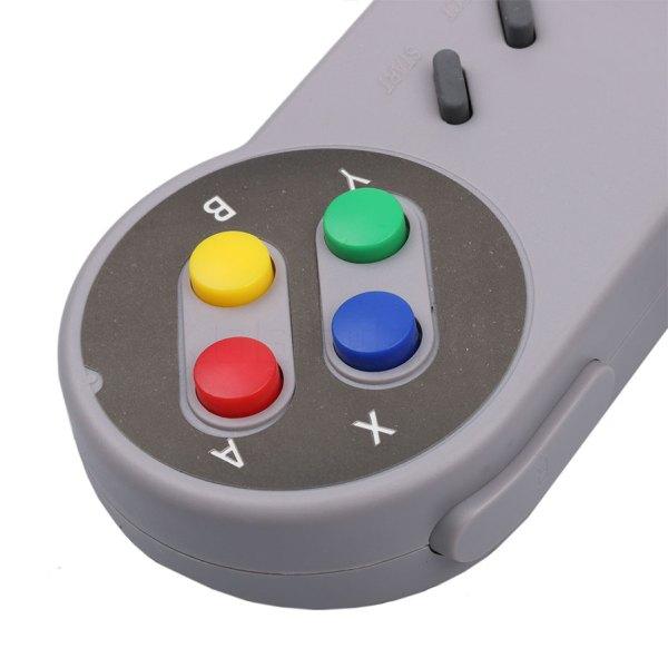 Retro Usb Controller Gamepad Super Nintendo Snes Img 04