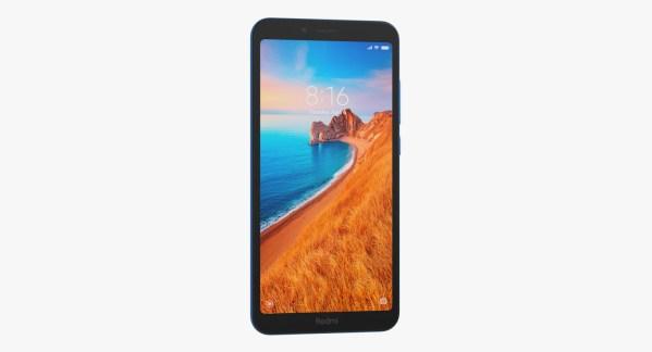 Xiaomi Redmi 7a Azul Fosco Img 02