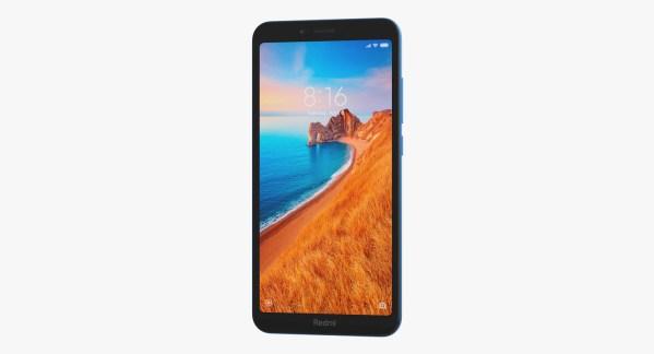 Xiaomi Redmi 7a Azul Fosco Img 03