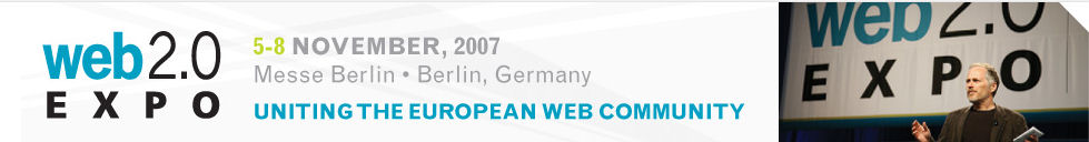 Web 2.0 Expo Berlin