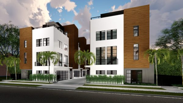 Downtown Luxury Townhomes Phil Kean Design Group