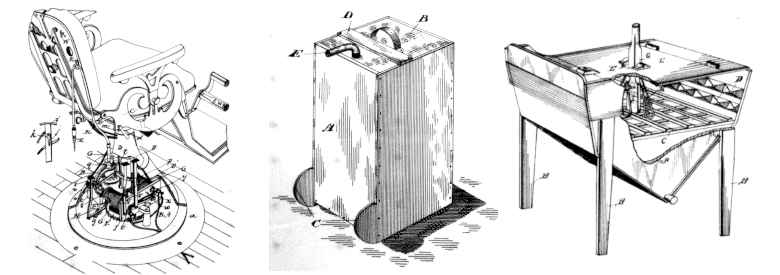 Canadian Patents Issued 16 March 1893