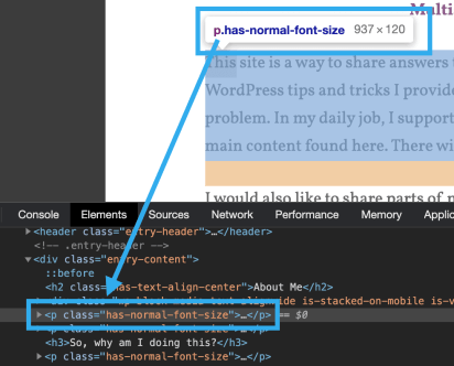 Highlighted content and corresponding HTML code.sh
