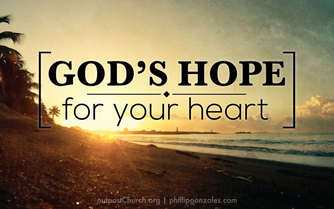 God is your hope for tomorrow