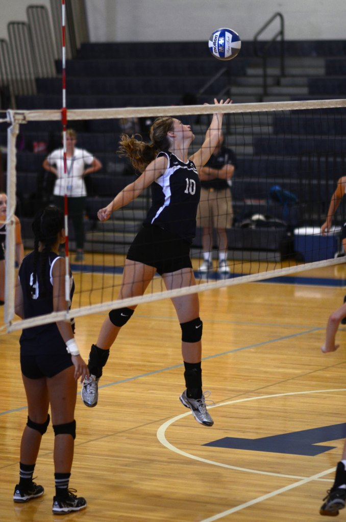 Returning Girls Volleyball Players Step Up into Key Roles