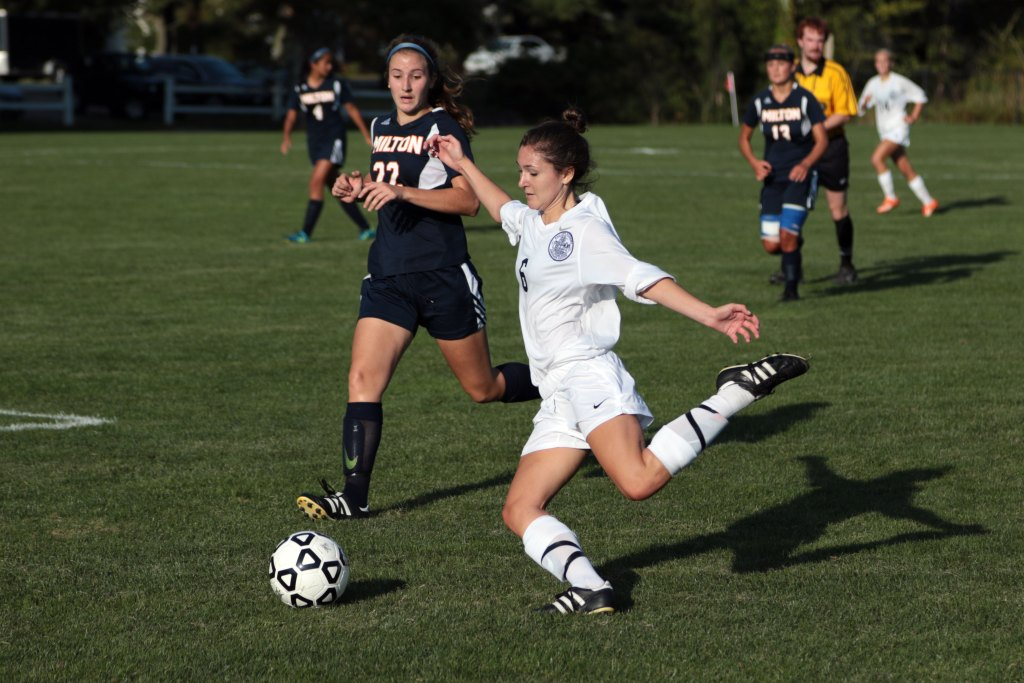 Girls Soccer Shuts Out Milton in Season Opener