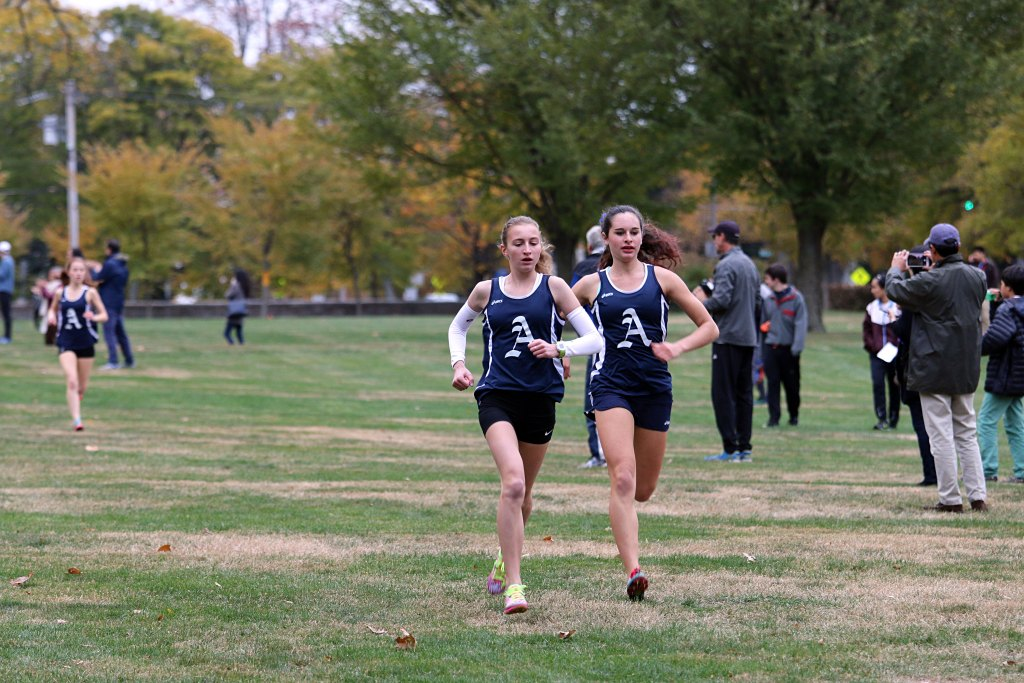 Six Runners Set Season Records as Girls Sweep NMH