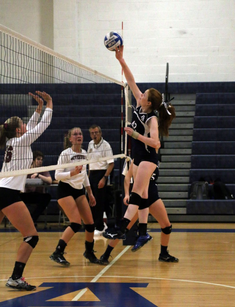 Strong Start Propels Girls Volleyball To Dominant Victory