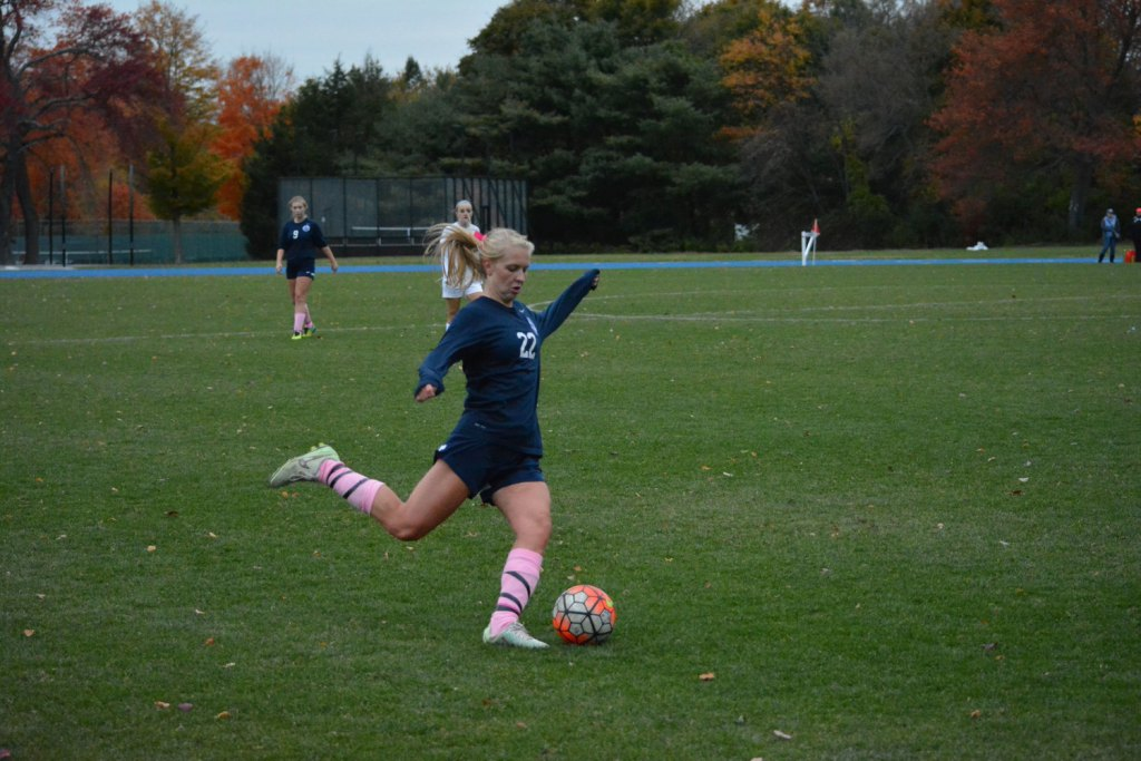 Girls Soccer Spoils Nobles's Undefeated Record