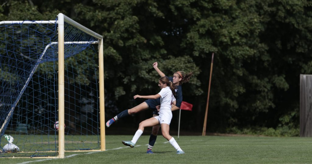 Girls Soccer: First Victory Followed by Narrow Loss