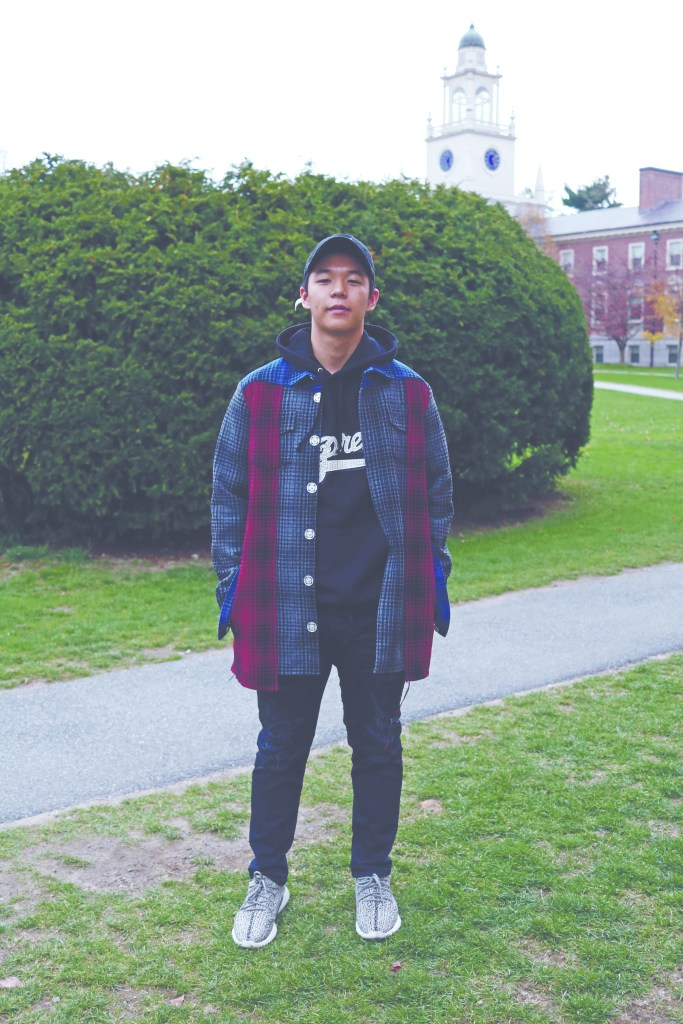 Look of the Week: Philip Koh '18 Stands Out with Sneakers, Streetwear, and Supreme