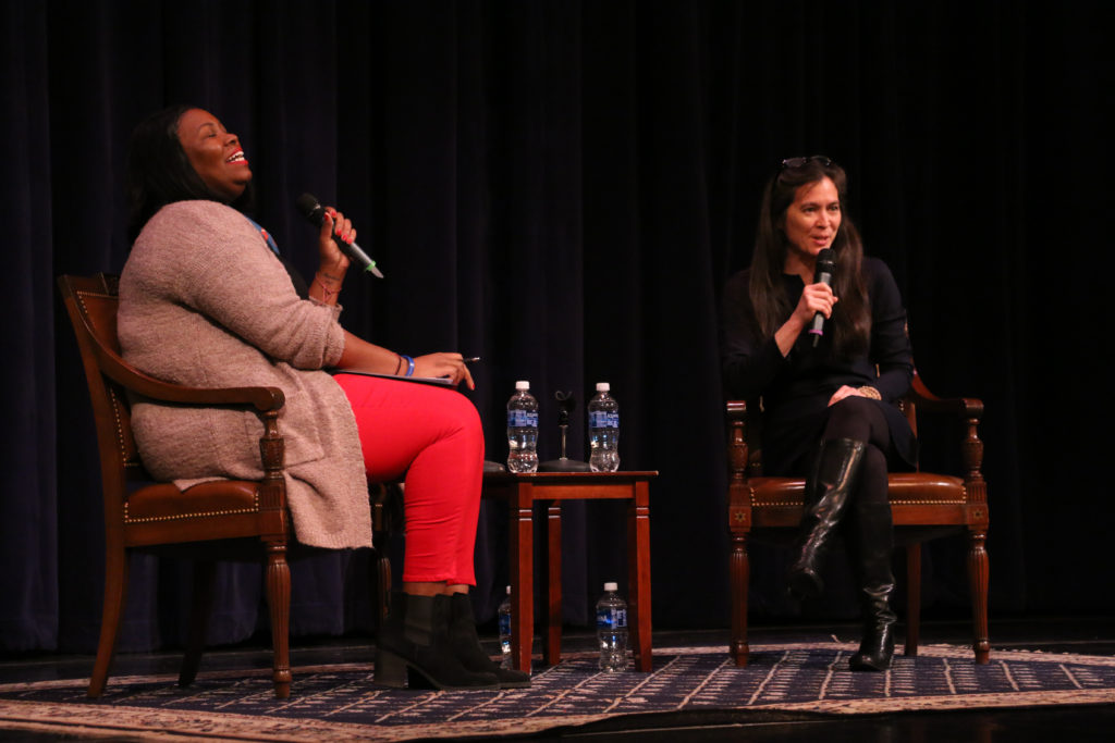 According to Diane Paulus, inklings of her career in the theater industry began when she danced with the New York City ballet as a young girl.