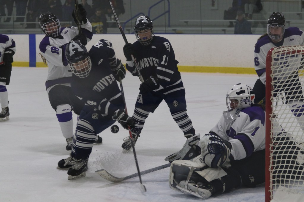 Welch Sisters Net Five of Six Girls Hockey Goals