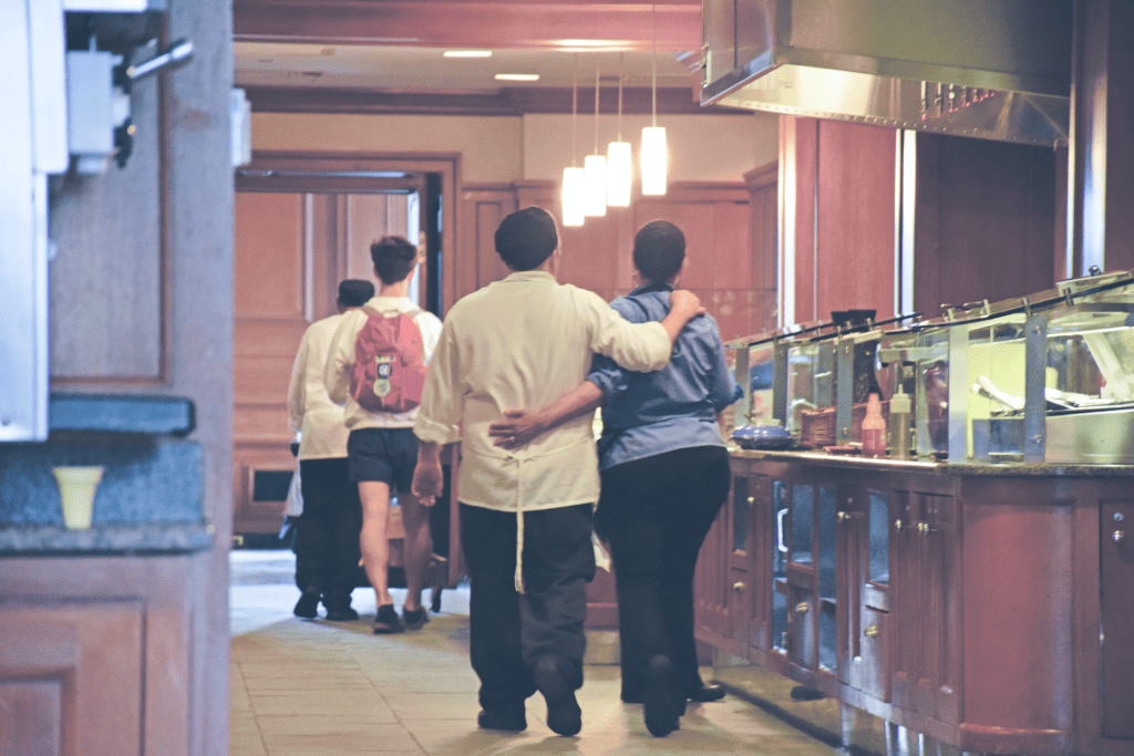 Paresky Commons is run by a staff of about 80 people, many of which have been at Andover for over 20 years.
