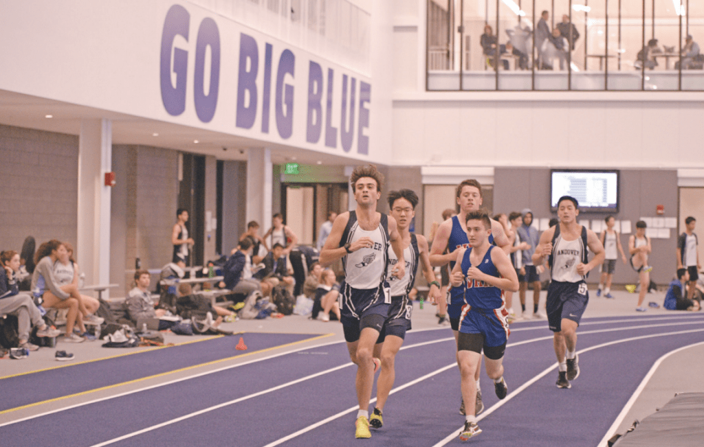 Boys Indoor Track Dominates First Snyder Center Meet