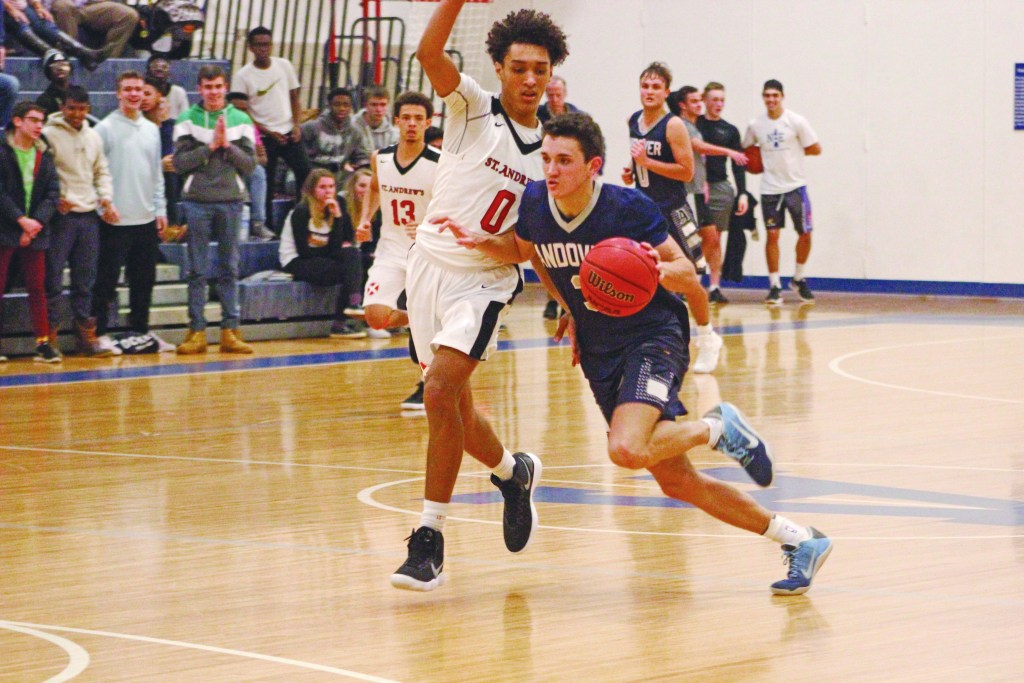 Boys Basketball Secures 32 Point Win Over St. Paul's