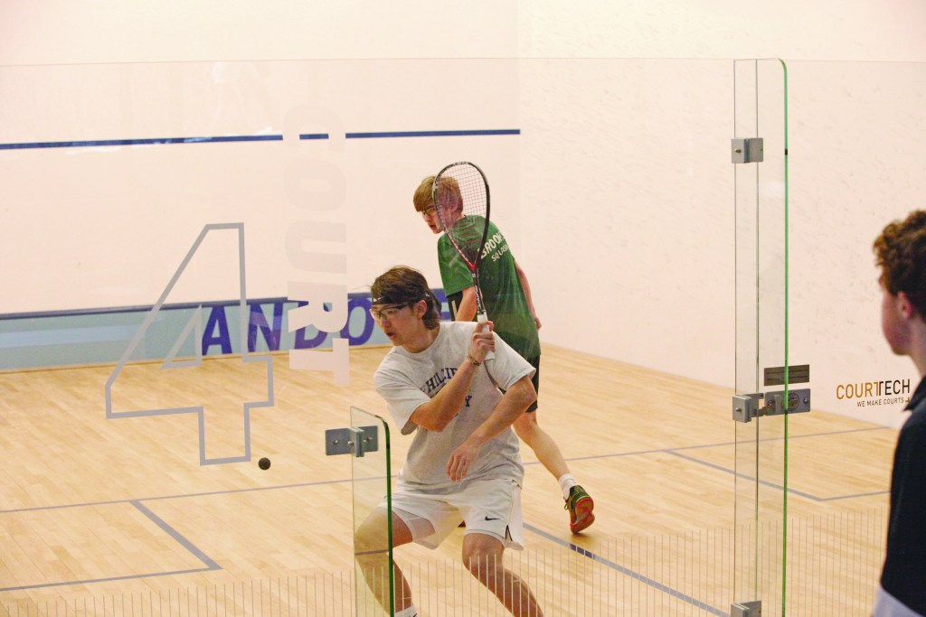 Boys Squash Secures First Victory Against Brooks Since 2013