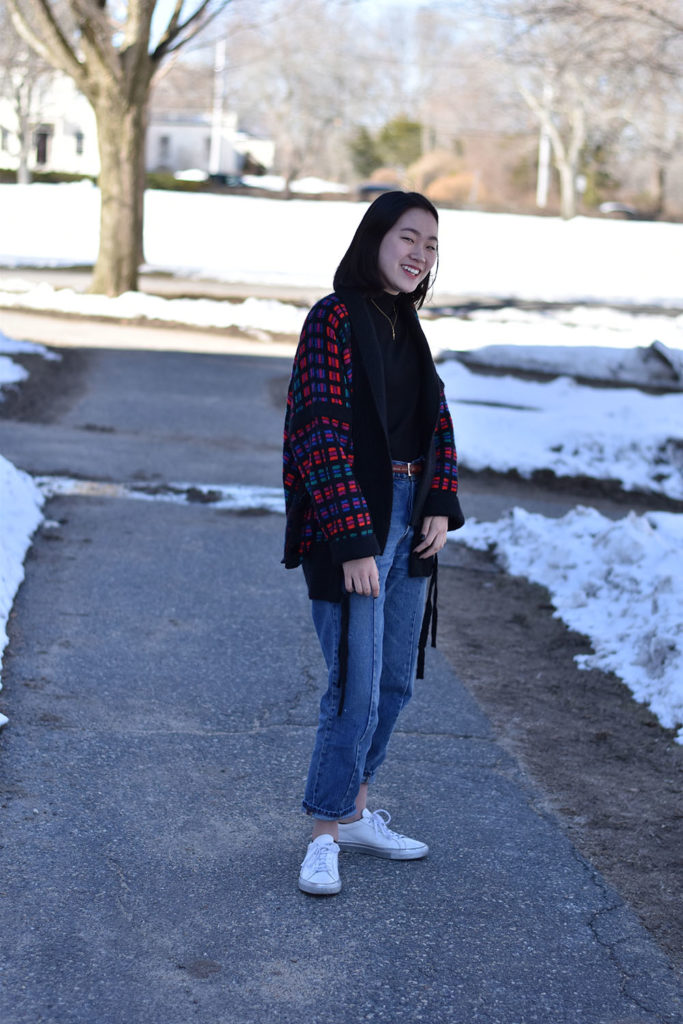 According to Susan Lee '19, she scavenges for much of her wardrobe from her mother and grandmother's closets.