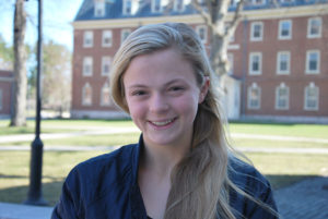 Juliet Gildehaus '20 grew up in a family of lacrosse players.