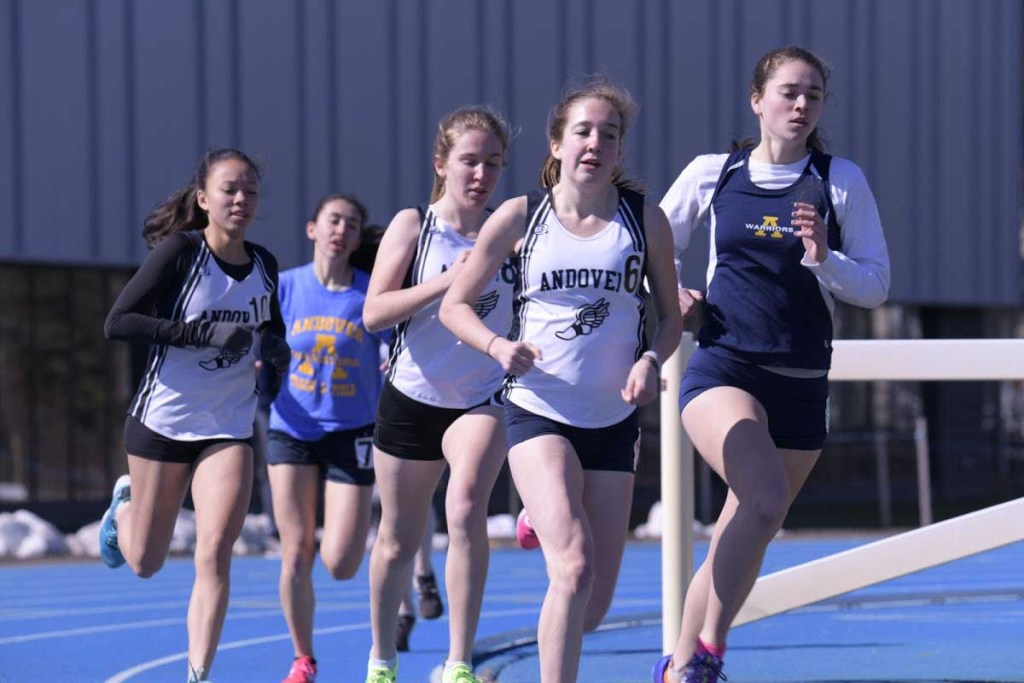 Girls Track Dominate Tri-Meet
