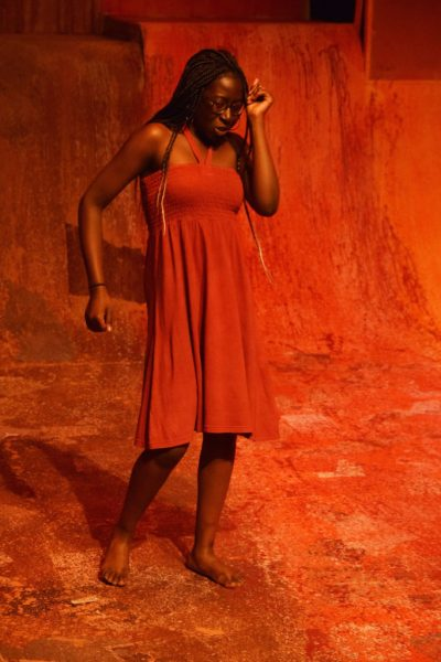 Abigail Ndikum '20 (pictured above). The play, a choreopoem, combines poetry, dance, music, music and song.