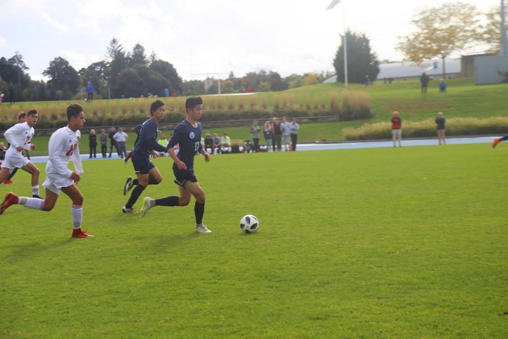 Andover Boys Soccer Blows Early Lead Against St. Paul's