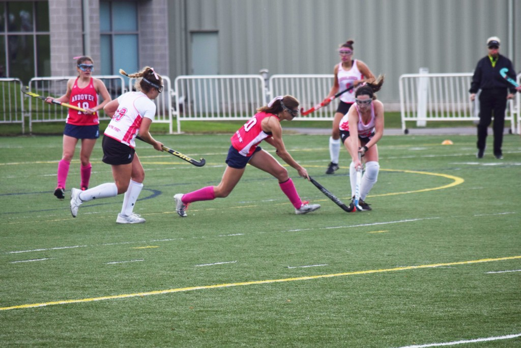 Andover Field Hockey Lets in Zero Goals Against NMH and BB&N