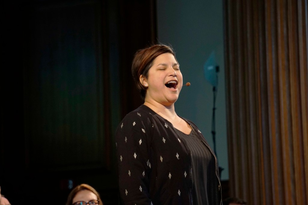 Musical Ensemble Conspirare Spreads Message of Love During ASM