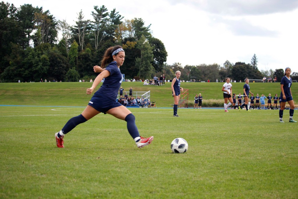 Andover Girls Soccer Shuts Out Pingree, Falls to Tabor
