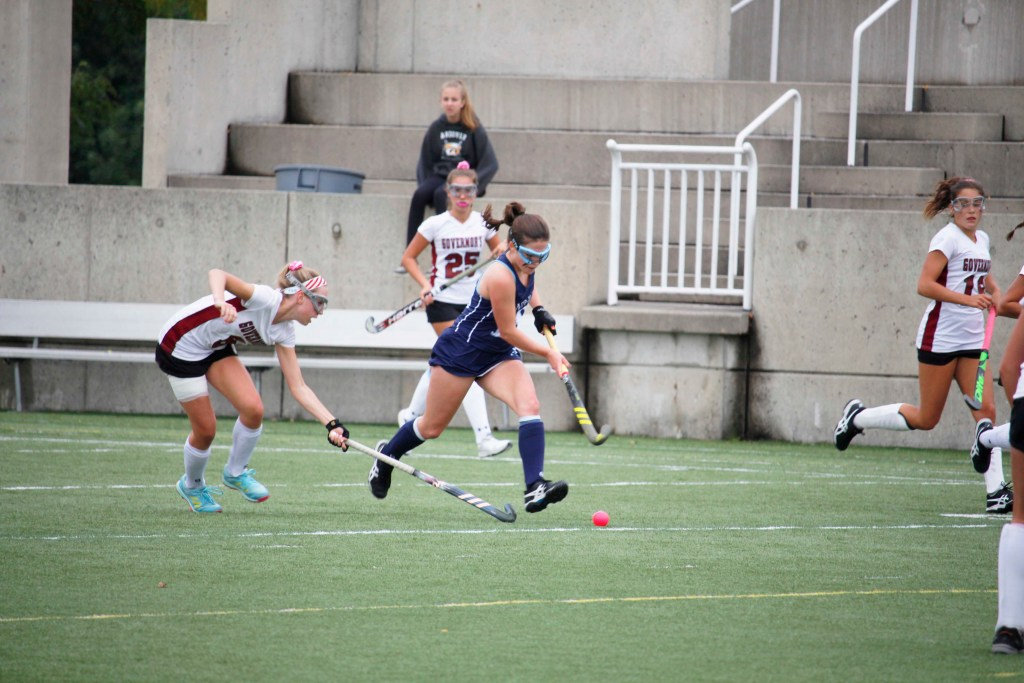Field Hockey Maintains Undefeated Record with Two Victories
