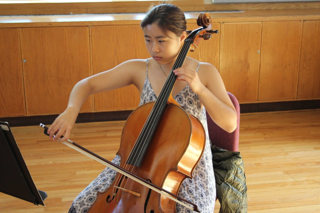 Senior Concerto Winner: Christina Cho '19 Finds Inspiration In Past Winners and Fellow Musicians